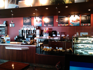 Good Earth Cafe - alternate office for BadDog Marketing