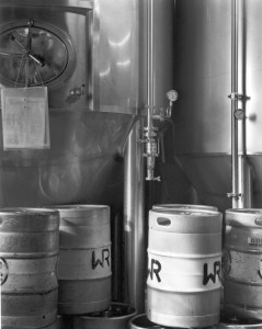 Wildrose Brewery Vats and Kegs - image taken by Eric Rose Fine Art Photographer