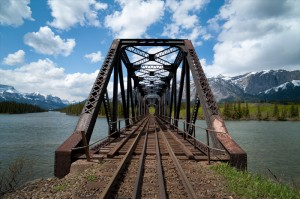 Bridge 531 long view - Seebe Eric G. Rose Photography